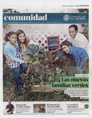Community segment from La Nación newspaper.